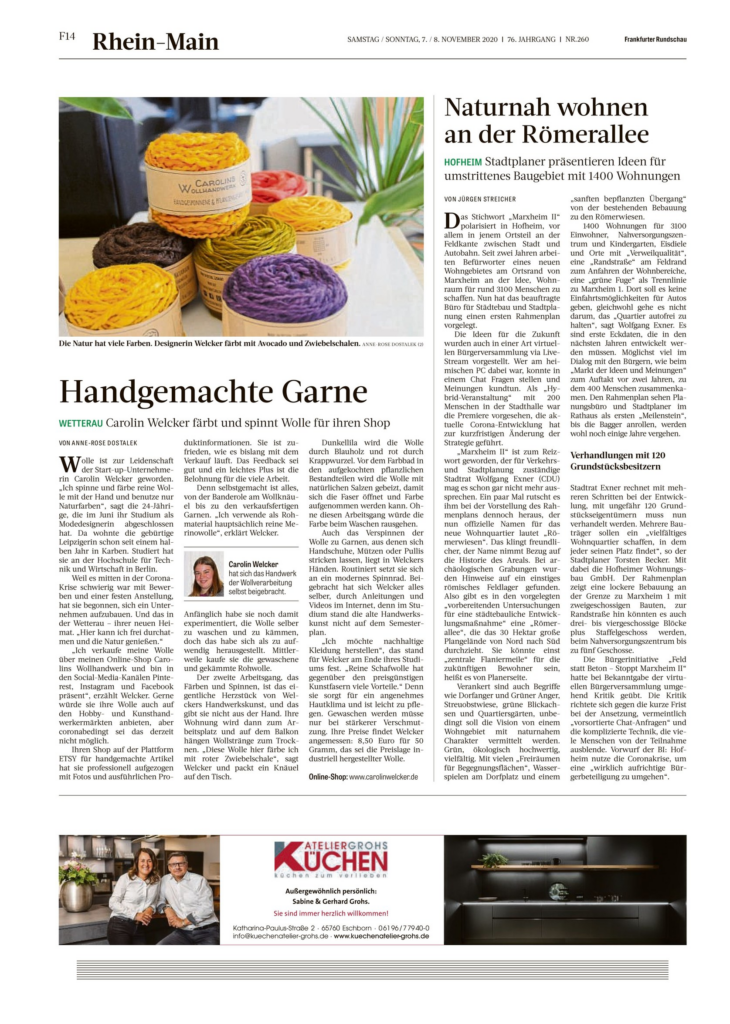 Frankfurter Rundschau Nr. 260
